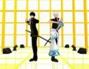 【MMD】銀さんと土方さんでハートキャッチ☆パラダイス!【銀魂】