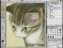 猫が可愛すぎるので描いてみた。~食べ盛りの子猫~