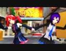 【MMD】テトとデフォ子で『プラチナ』-shin'in future Mix-【らぶ式】