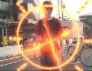 「DXアクセルドライバー」で仮面ライダーアクセル風に変身してみた。