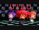 【MMD】ねんどろ風UTAU三人娘だけでDreamFighter