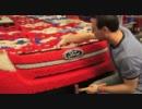 【LEGO】1:1のフォード・エクスプローラーのメイキング映像
