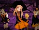 【MMD】ハロウィン衣装で踊ってもらってアクセサリー配布してみた