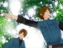 【MMD】枢軸+αにあの聖地で踊ってもらった【どうでしょう風味】