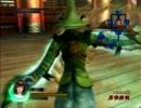 【戦国BASARA3】元就様のBASARA技ラスト輪刀の向きを録ってみた。