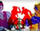【MMD】東西同盟パンダヒーロー【戦国BASARA】