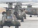 【JGSDF】第1ヘリコプター団 年頭編隊飛行訓練[桜H24/1/9]