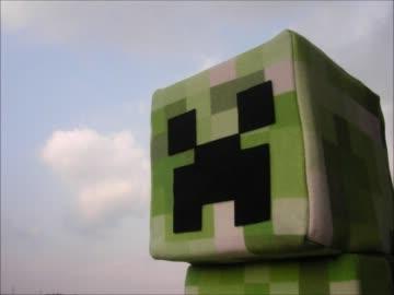 【minecraft】匠ぬいぐるみ作ってみた。