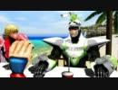 【MMD】ビーチでむっちゃ眠いおじさん thumbnail