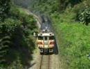 気動車と客車列車