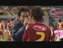 日韓女子クラブサッカー対決で近賀ゆかり選手が韓国選手に蹴られ鼻骨折