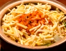 味噌仕立てのミルフィーユ鍋♪  ~チーズとキムチが相性抜群!~