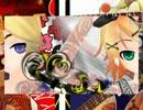 【DIVA extend】 鏡音八八花合戦 【FR&NRコラボEDIT PV】修正版
