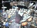 Terry Bozzio氏のテラドラム その2
