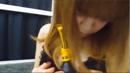 柔肌セクシーランジェリーの谷間で音を立てる動画。(高画質動画)