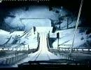 スキージャンプのしかた。