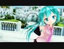 【MMD】ゆきはね式ぷちミクで「ぎゃらくしあす!」【モデル配布】