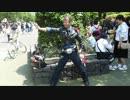 上野動物園前にいたおもしろいおじさん