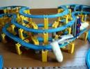 プラレールの正面衝突バトル2012