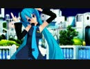 【ミクモデル配布】うちの子にgalaxias!踊ってもらった【MMD】