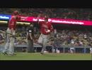 MLB トラウトの打撃と走塁