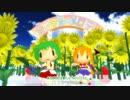 【MMD】カラフル×メロディ【東方】【改造へちょモデル】