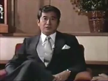 石原慎太郎運輸大臣時代バイク取得年齢について語る - ニコニコ動画
