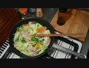 肉野菜炒めをつくる