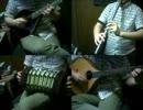 東方文花帖「東の国の眠らない夜」アイリッシュ楽器等で演奏してみた。