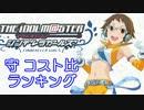 【12年6月版】シンデレラガールズ「守 コスト比」ランキング