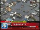 3月11日に投稿された海外の津波報道動画