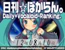 日刊VOCALOIDランキング 2012年8月10日 #1
