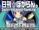 日刊VOCALOIDランキング 2012年8月15日 #1