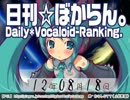 日刊VOCALOIDランキング 2012年8月18日 #1