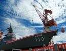 あきづき型護衛艦ふゆづき進水式