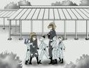 【RKRN】忍術学園の攻防の段【手描き】