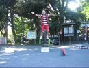 ハンガーマン(ローラーボーラー3) 上野恩賜公園 2012.08.20