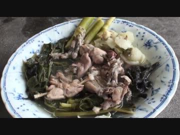 【自然を食べよう!】山菜とカエルの塩スープ編 2/2