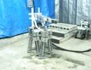 水圧軟体筋肉ロボット:P19:六足歩行:動作:サンポート.MOV