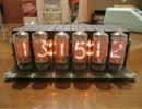 リレー112個使って卓上ニキシー管時計作ってみた