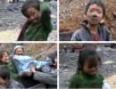 【新唐人】石炭堀りで生計を立てる子供たち