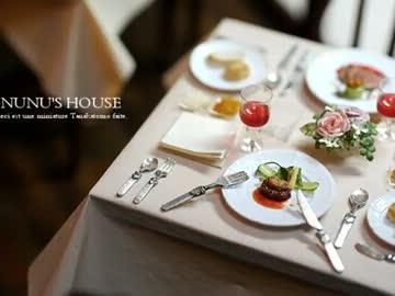 【ミニチュア】レストラン「La Cachette」へようこそ。