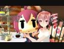 【MMD】ミク と テト で「ちょこまじ☆ろんぐ」