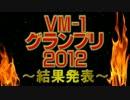VM-1グランプリ 2012 投票結果発表