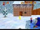 スーパーマリオ64 - 親ペンギンに暗殺されるTAS 19.7秒