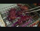 肉を焼いて食う