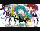【MikuMikuDance】わんつーすりーダヨ~~♪【HD】