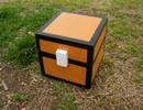 【minecraft】100均の木箱でチェストボッ