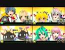 初音ミク -Project DIVA- F 『リンちゃんなう!』 全難易度比較