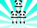 パンダがソーラン節を踊ってなかったを踊れてなかった【フル...
